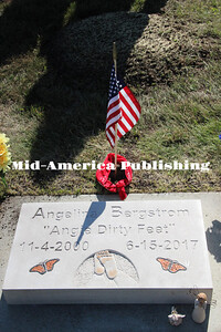 Curran McLaughlin | The Leader Angie Dirty Feet's grave stone. She was 16-years-olds.
