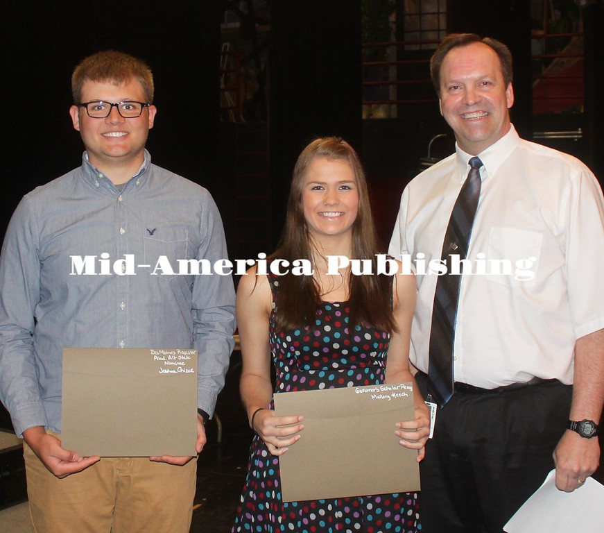 Governor's Scholar Recognition and Des Moines Register Academic All-State