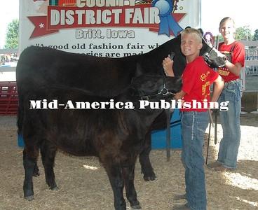 Grand Champion Cow/Calf Pair Grett Gouge Concord Challengers