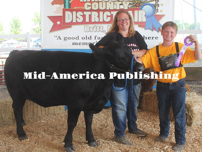 Grand Champion Return Bucket Bottle Calf - Logan Kudej