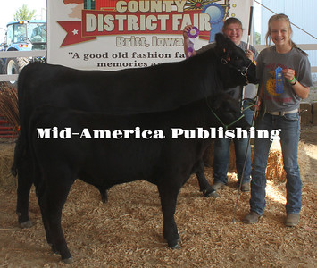 Grand Champion Cow-Calf Pair - Tanya Olsen