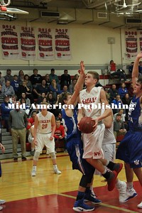 Curran McLaughlin | The Leader Gavin Becker goes up for a layup.