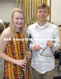 Alexis Wirtz, daughter of Troy and Stacey Writz, and Tyler Oberman, son of Joe and Rebecca Oberman, are king and queen candidates from Garner-Hayfield-Ventura for the 2018 North Iowa Band Festival. Both are seniors at GHV. The North Iowa Band Festival is May 25-26 in Mason City. Rebecca Peter |The Leader