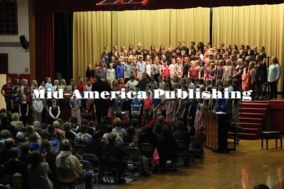"Curran McLaughlin | The Leader Grades 5 - 12 come together to perform ""With Just a Single Voice"" and ""Proud Mary."""