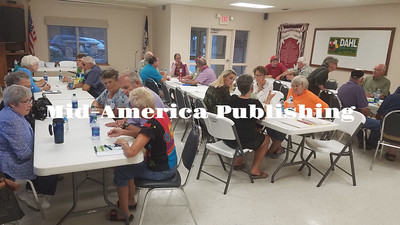 Travis K. Fischer | MAPC Area Democrats met in Kanawha on Thursday, Sept. 21 to begin their search for a candidate for the 2018 elections.