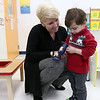 The Learning Experience is the nation's fastest growing Academy of Early Education for children six weeks to six years old. In January one opened in Tyngsboro. Hanging out with student Nicholas Spanos, 2, in a room at the academy for what they call Twaddlers is the Center Director Shannon Doherty. SUN/JOHN LOVE