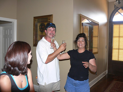 2006, 06-25 Bill & Cori Party