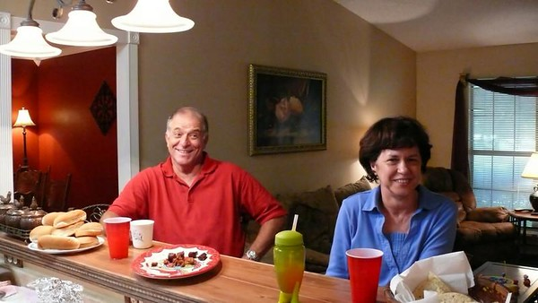 2008, 08-24 Barbara & Marty's