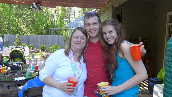 2014 Easter Crawfish Boil at Laurens