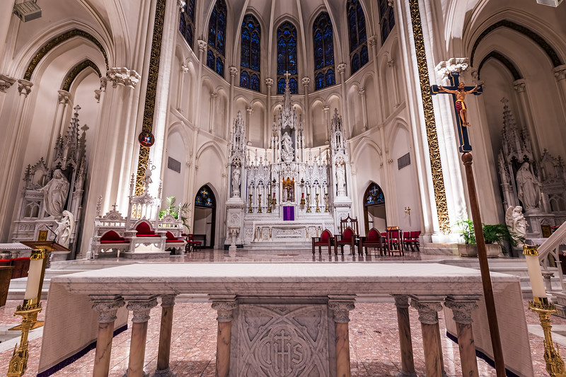 Alter at the Basilica