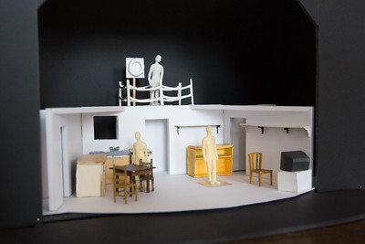 The Everyman Theatre, Cork production of Martin McDonagh's The Lonesome West directed by Julie Kelleher. Pic Darragh Kane