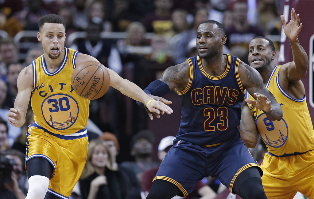 """. <p>7. (tie) CLEVELAND CAVALIERS </p><p>C-Town�s championship drought may continue for another 52 years. (unranked) </p><p><b><a href=\""""http://www.foxsports.com/nba/story/golden-state-warriors-stephen-curry-cleveland-cavaliers-chicago-bulls-012016\"""" target=\""""_blank\""""> LINK </a></b> </p><p><br>   (AP Photo/Tony Dejak)</p>"""
