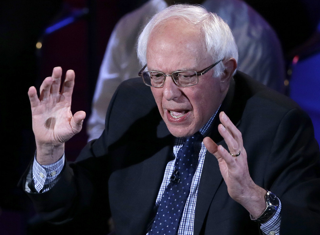 . <p><b>BERNIE SANDERS  </b> </p><p>Democratic presidential candidate, discussing the improved fortunes of his campaign: </p><p><br> </p><p><i> �When this campaign began, she was 50 points ahead of me. � In polling, we are running ahead of Secretary Clinton against my good friend Donald Trump.� </i> </p><p><br> </p><p><i><b> Translation: �No one has explained to me, yet, that I cannot possibly win.� </b></i> </p><p><br>   (AP Photo/Charlie Neibergall)</p>