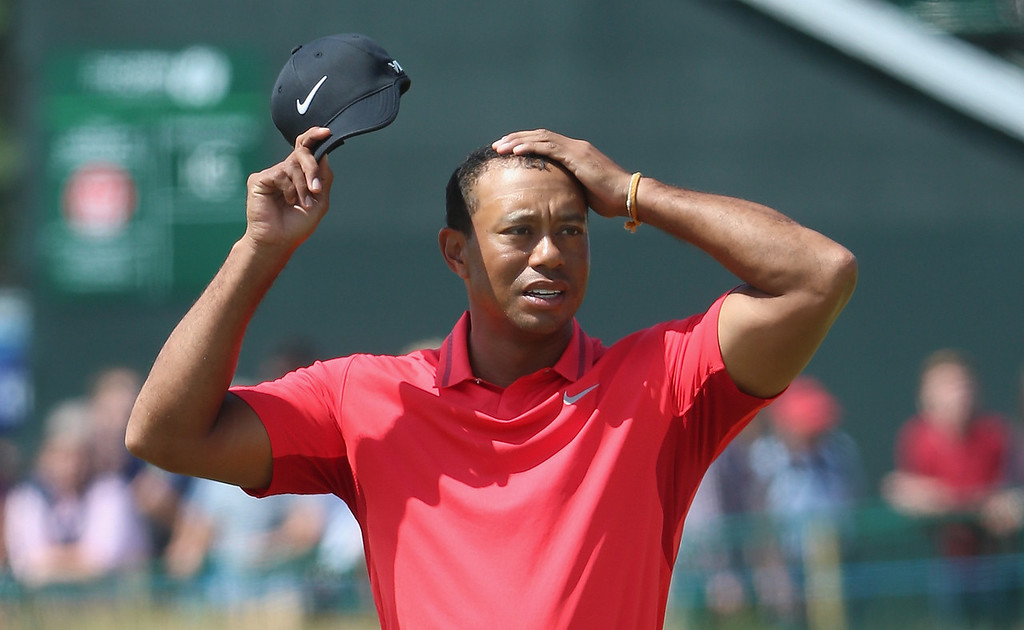 . <p><b>TIGER WOODS  </b> </p><p>14-time major champion, on the sport he used to master: </p><p><br> </p><p><i> �I can\'t remember the last time I watched golf. I can\'t stand it.� </i> </p><p><br> </p><p><i><b> Translation: �I now spend ALL of my time watching strippers.� </b></i> </p><p><br>    (Andrew Redington/Getty Images)</p>