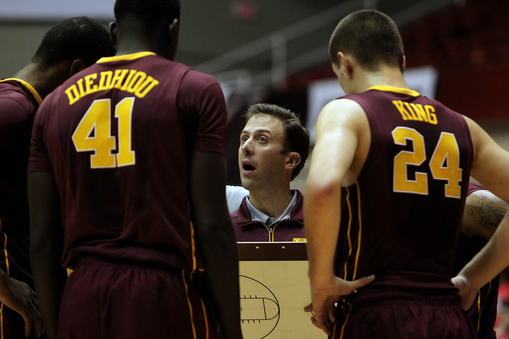 . <p><b>RICHARD PITINO  </b> </p><p>Gophers basketball coach, after asking his father, Louisville coach Rick Pitino, to speak to his slumping team before Saturday�s game: </p><p><br> </p><p><i> �I think when it\'s a long season, it\'s always good to get other voices. We\'re all saying the same thing. It\'s just if you hear from somebody else it\'s always a good thing.� </i> </p><p><br> </p><p><i><b> Translation: �It�s the first time they�ve heard from a successful coach.� </b></i> </p><p><br>   AP Photo/Ricardo Arduengo)</p>
