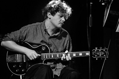 Bill Ryder-Jones, playing with The Lost Brothers