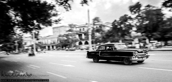 Old Car in Old City