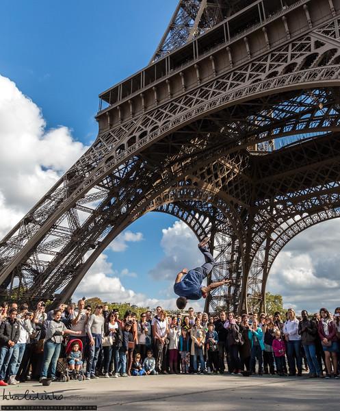 Highest Jump in Paris