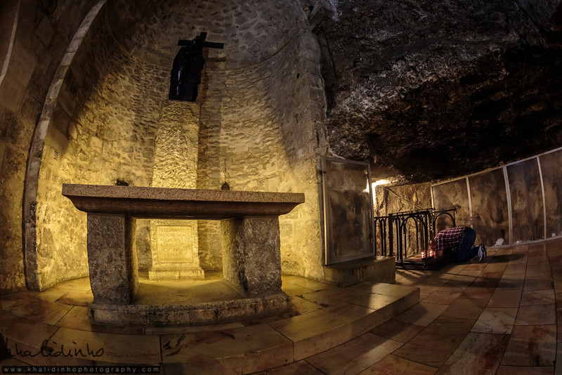 Praying - Inside Al Mahd Church