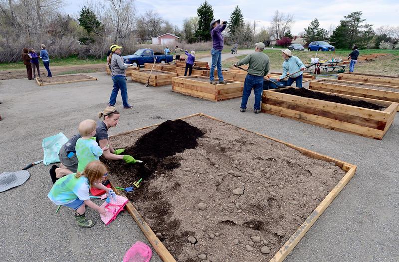 Louisville Community Garden Opens