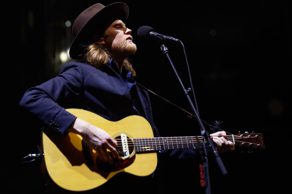 . The Lumineers live at The Palace on 1-27-2017. Photo credit: Ken Settle