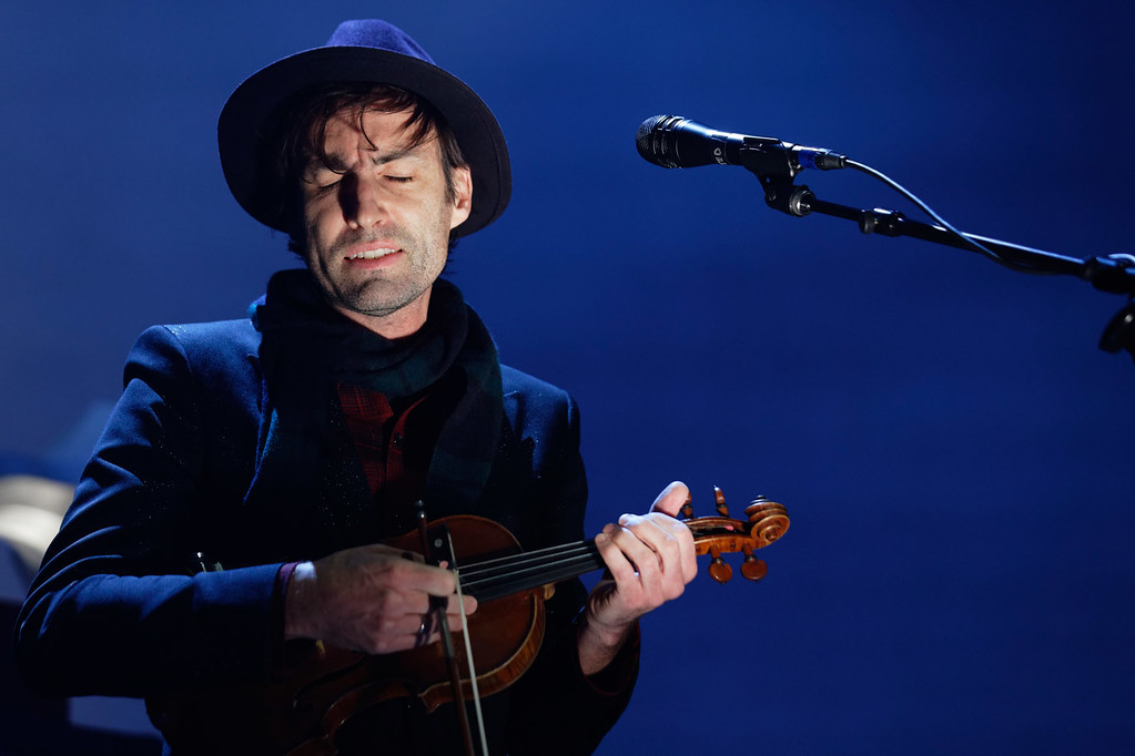 . Andrew Bird live at The Palace on 1-27-2017. Photo credit: Ken Settle