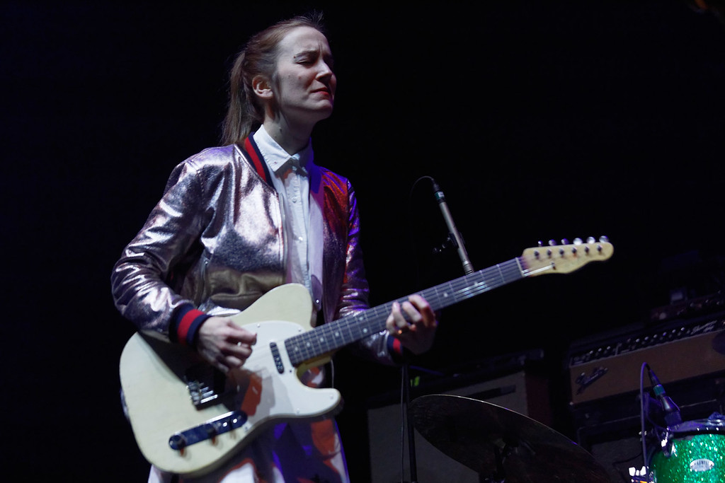 . Margaret Glaspy live at The Palace on 1-27-2017. Photo credit: Ken Settle