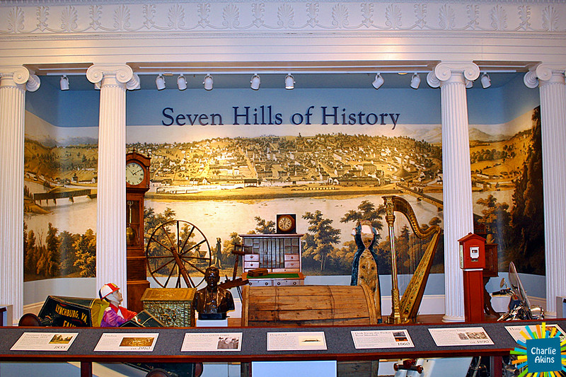 Main exhibit of historic Lynchburg