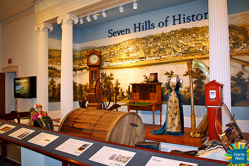Another view of the main exhibit