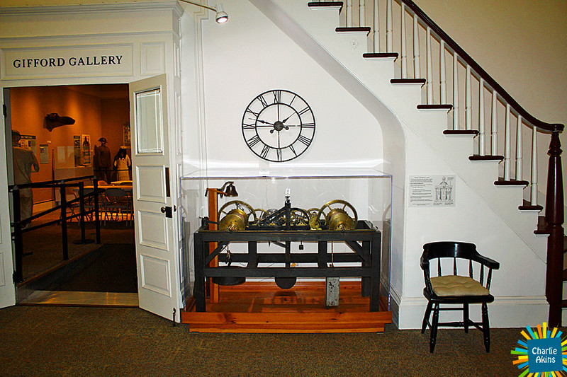 Clock works from the 1800s