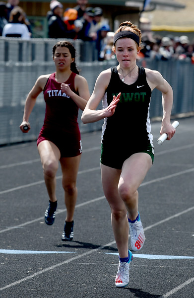 Lyons Invitational track