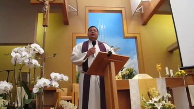 Video 1 Fr. Carl Arcosa St. Anne Union City CA