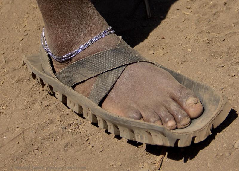 Traditional Maasai Sandal