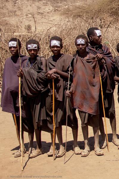 Maasai Boys in Warrior Training