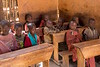 Young Maasai Children at School in Ngorongoro