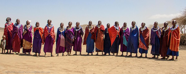 Maasai Women Singing