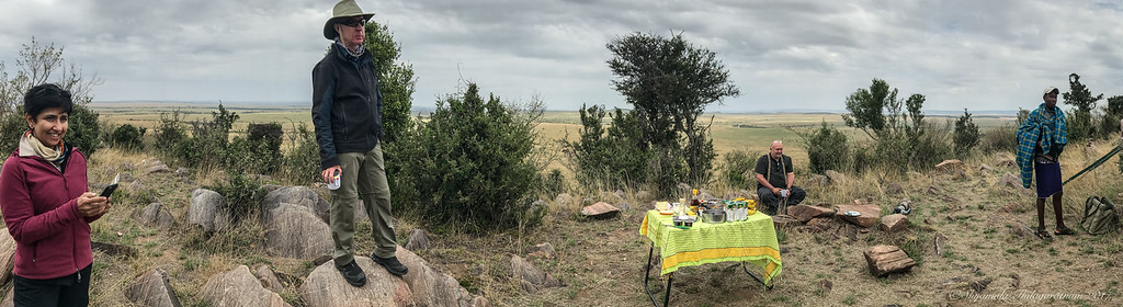 Breakfast at Lookout Point