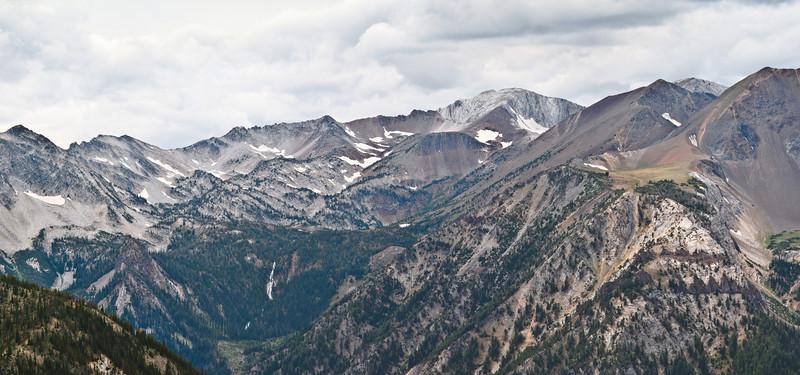 Eagle Cap Wilderness From Mt Howard - Near Joseph, Oregon