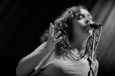 Ruthy of The Mammals performs at Roy's Hall in Blairstown, NJ  Sept. 23, 2017
