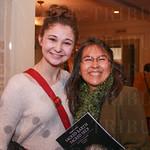Hannah Nelms and Patricia Cervera.