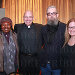 Kathy Goodwin, Reverend Jeff Nicolas, and Les Waters and Jennifer Bielstein of Actors Theater.
