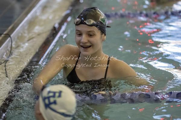 Girls Swim at ISL finals