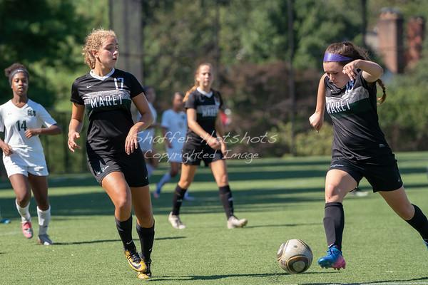 Maret Girls Varsity Soccer at GDS
