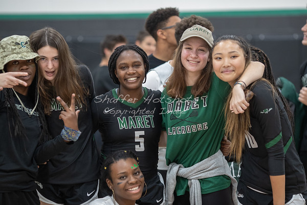 Maret Homecoming 2018:  Varsity Volleyball vs. National Cathedral School