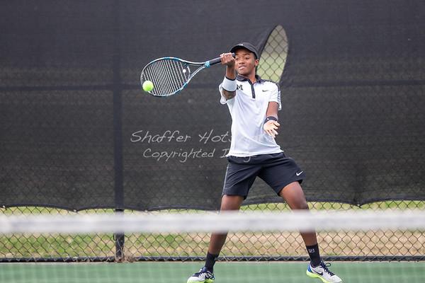Spring 2019:  Boys Varsity Tennis vs. GDS