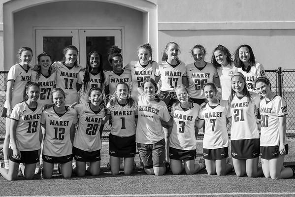 Spring 2019:  Girls Varsity Lacrosse vs GDS