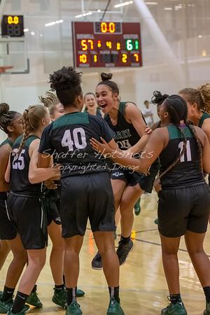 Winter 2018:  Girls Varsity Basketball at Sidwell Friends