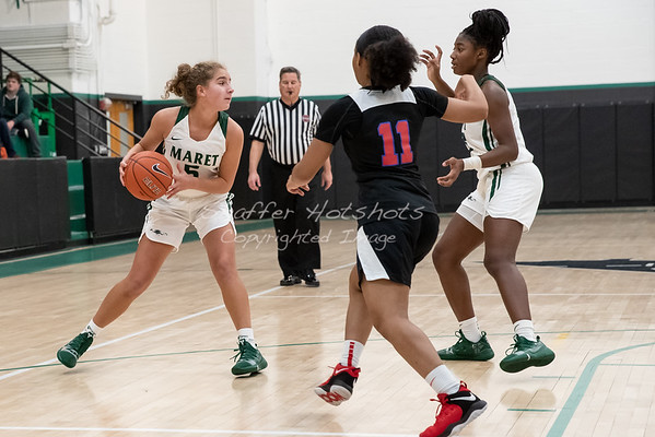 Winter 2018:  Girls Varsity Basketball vs. Anacostia HS