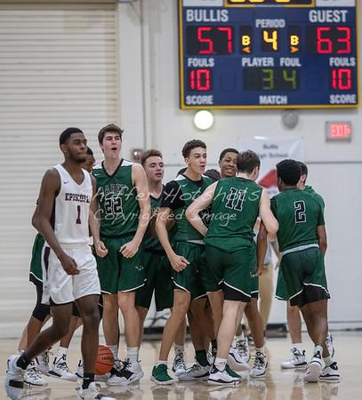Winter 2019:  Boys Varsity Basketball vs. Episcopal