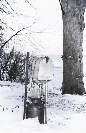Christmas Mail Box